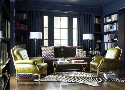 Navy Blue Room Decor by Navy Blue Living Room Decorating