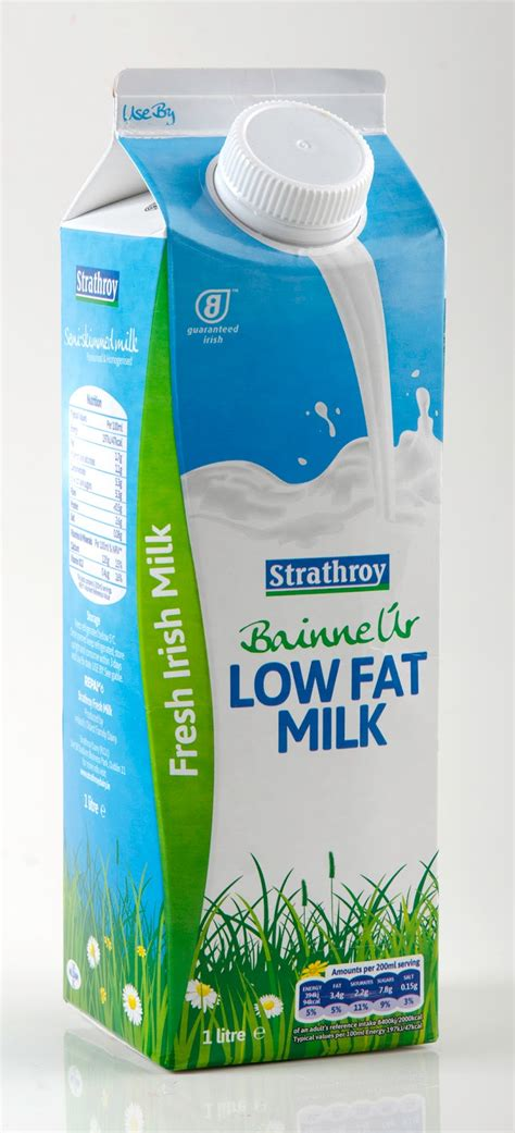 milk design b v bainne 218 r fresh irish milk on packaging of the world