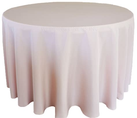 90 inch polyester tablecloth blush pink table linens