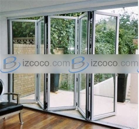 Folding Glass Patio Doors Cost Low Cost Folding Patio Doors Prices China Manufacturer Trading Company Foshan Wanjia Window