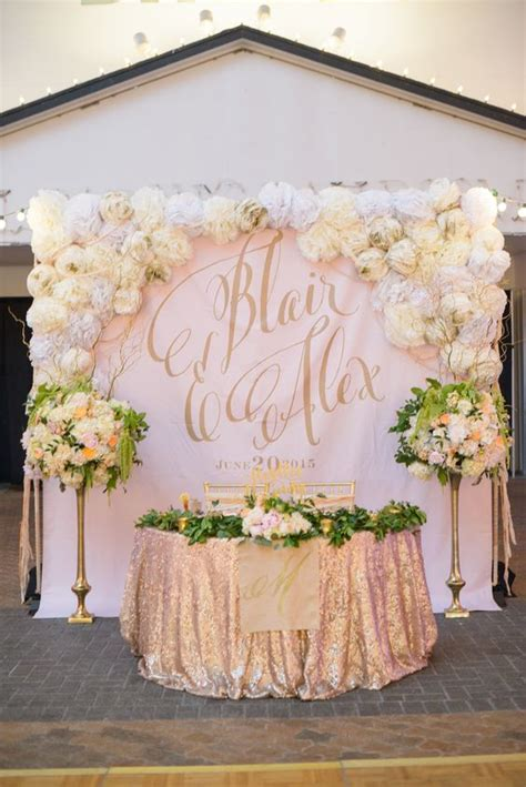 100 amazing wedding backdrop ideas sweetheart table