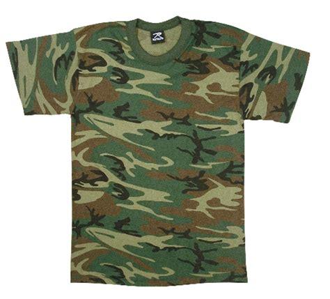Camo Shirts Boys Woodland Forest Camo Army Style T Shirt
