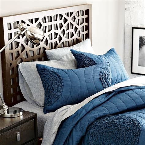 Headboard West Elm by Morocco Headboard Eclectic Headboards By West Elm