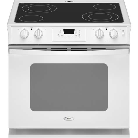 How To Clean Electric Cooktop kenmore 46782 30 quot self clean slide in electric range w