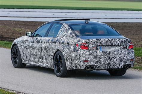 Interior Home Styles 2017 Bmw M5 Latest Spy Shots Reveal More Of Its Design