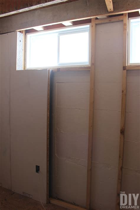 Smartwall Installation In Our Basement Office Craft Room Framing Basement Windows