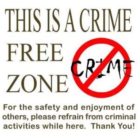 crime zone no crime sign www pixshark images galleries with a