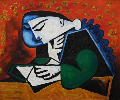 picasso paintings titles the of reading on reading
