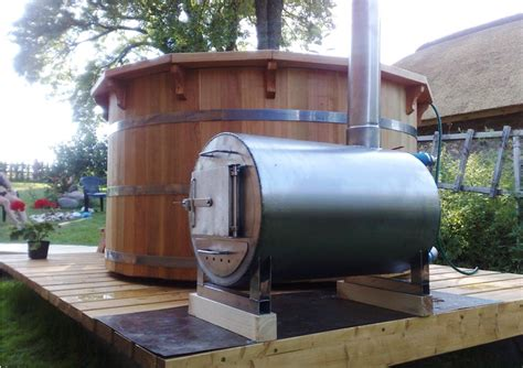 Wood Fired Bathtub by Wood Burning Tub Heater