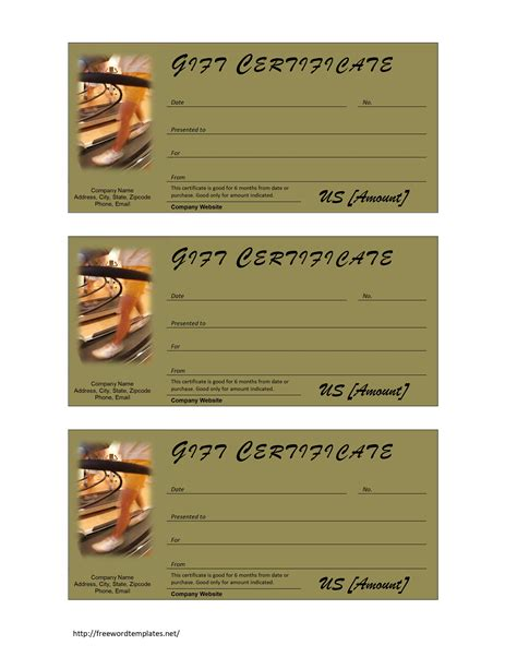 free gift certificate template microsoft word gift certificate free microsoft word templates