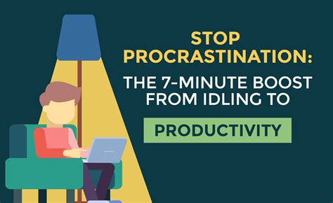 the science of effective habits stop procrastination boost your productivity increase your mindfulness and change the way you live forever books stop procrastination the 7 minute boost from idling to