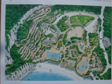 ischia giardini negombo map of the gardens and spas foto di giardini termali