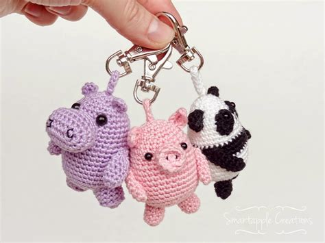 amigurumi pattern keychain smartapple creations amigurumi and crochet amigurumi