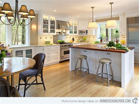 Eat In Kitchen Design Ideas 15 Traditional Style Eat In Kitchen Designs Decoration For House