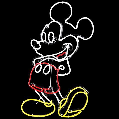 Shop Disney Pre Lit Mickey Mouse Sculpture with Constant