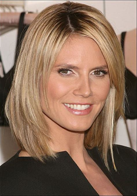 bob haircuts for older women side bangs layered shoulder length bob hairstyles with side bangs for
