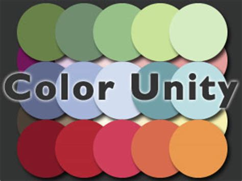 what color represents unity colors of unity
