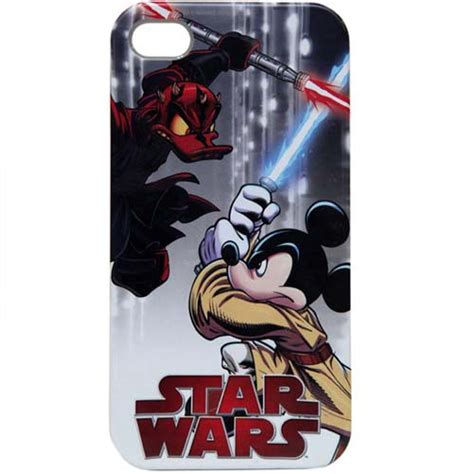 Your WDW Store   Disney iPhone 4 Case   Star Wars Weekends 2012 Darth Maul Donald Duck