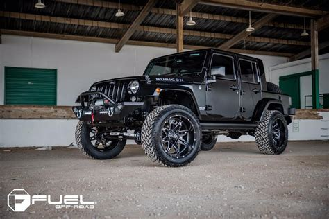 Jeep Wrangler Tires And Wheel Packages Fuel Tire And Wheel Packages Were A Fit On This