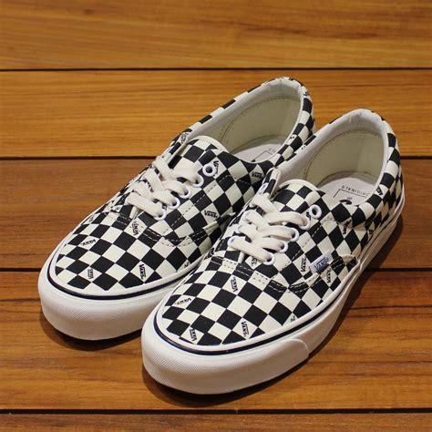 Sepatu Vans Era Vault Lx Checkerboard Premium Quality w2c vans og era lx checkerboard repsneakers