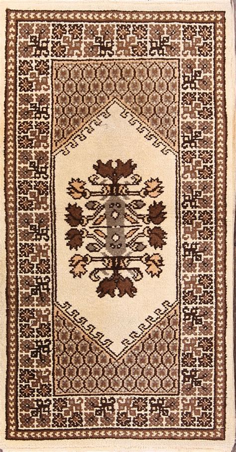Earth Tone Area Rugs Geometric Tribal Earth Tone Color 3x5 Moroccan Area Rug 4 9 X 2 5 Ebay