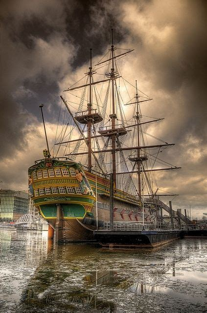 eighteenth century boats a replica of the eighteenth century ship de amsterdam