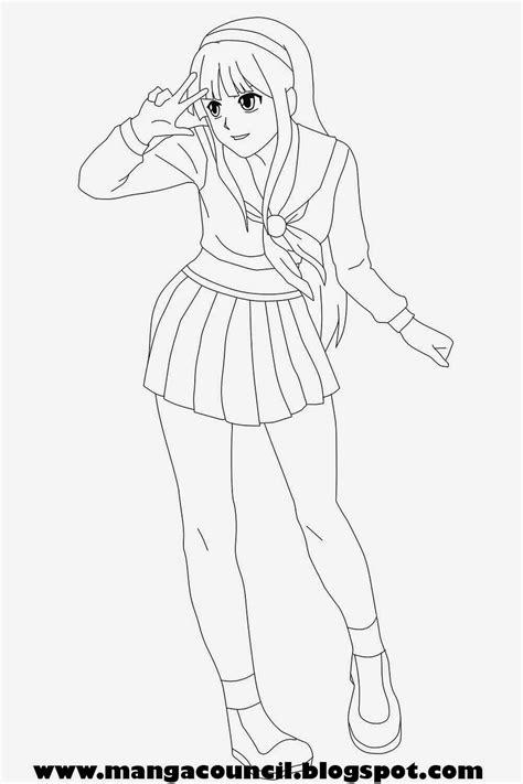 Tutorial Menggambar Anime Untuk Pemula | cara menggambar anime perempuan untuk pemula manga council