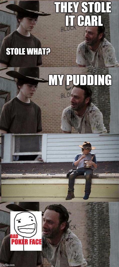 Carl Grimes Memes - carl grimes pudding meme www pixshark com images