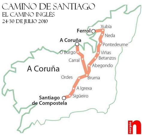 el camino de santiago 8424651812 el camino de santiago camino ingles camino de santiago