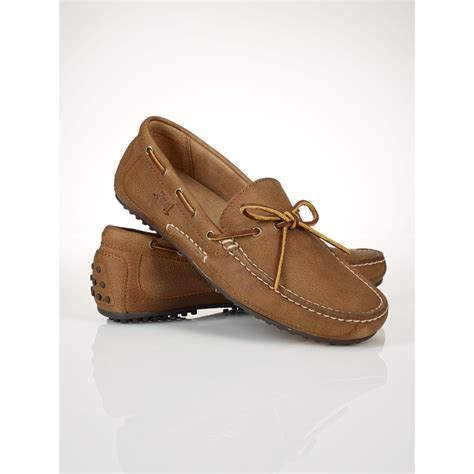 polo ralph loafers polo ralph wyndings loafer in brown for lyst