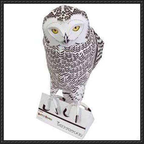 Owl Papercraftsquare Free Papercraft - 33 best images about papercraft on corner