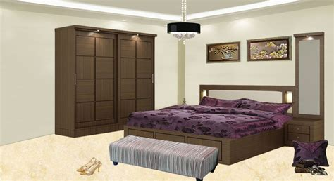 bedroom set with wardrobe get modern complete home interior with 20 years durability