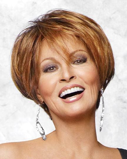 Racheal Edwards Wigs | rachel welch wigs 2013 front back views short hairstyle 2013