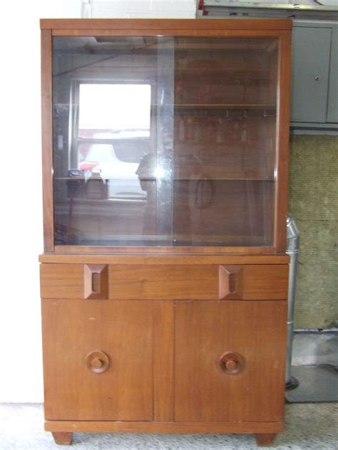 1950s Hutch vintage signed 1950 s american of martinsville mid century china cabinet hutch ebay