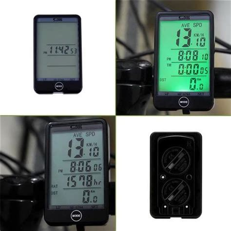 Speedometer Sepeda Touch Lcd Sd 576a zc71000 wired bike bicycle speedometer
