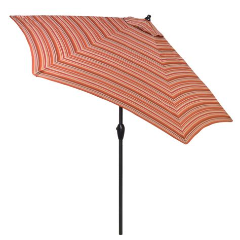striped patio umbrella 9 ft plantation patterns 9 ft aluminum patio umbrella in