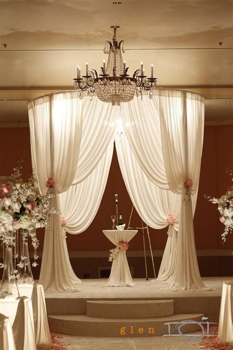 Round Chuppah   Backdrop, Chuppah, Mandap, Wedding Stage
