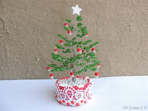 cards crafts kids projects beaded tree tutorial