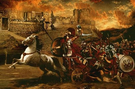 la guerre de troie 2210750679 r 233 sum 233 de la 171 iliade 187 d hom 232 re l interpr 233 tation artistique de la guerre de troie