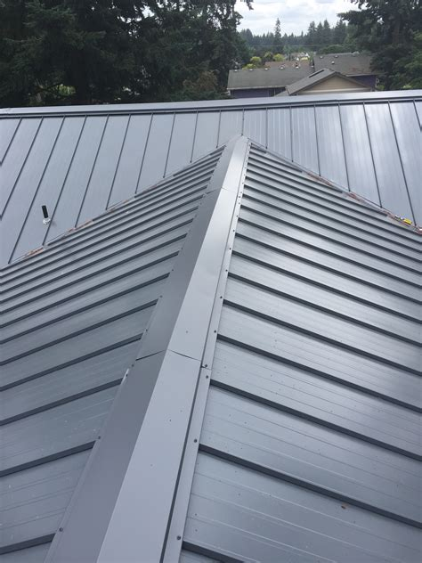 standing seam metal roof colors asc roofing 16 u2033 standing seam panel color slate gray