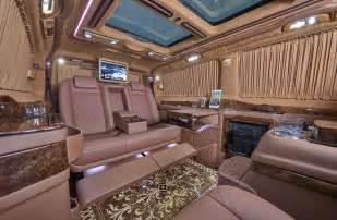 luxury minivan interior mercedes viano klassen 174 luxury vans