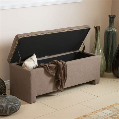 storage bench fabric fabric ottoman bench pollera org