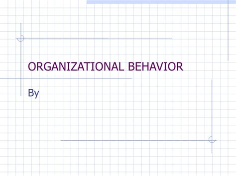 Organizational Behavior Mba Pdf by Organizational Behavior 4th Edition Kinicki Pdf Free