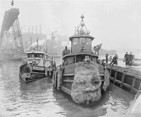 tugboat yards usn large harbor tug uss quileute ytb 540 at the