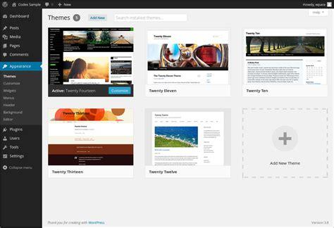 new themes in wordpress themes add new button not present wordpress