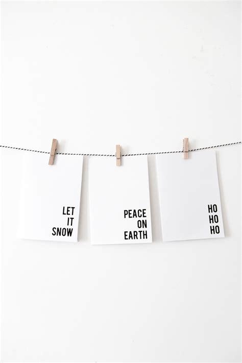 printable minimalist christmas cards  beautydojo
