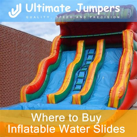 buy bounce house water slide where to buy inflatable water slides ultimate jumpers