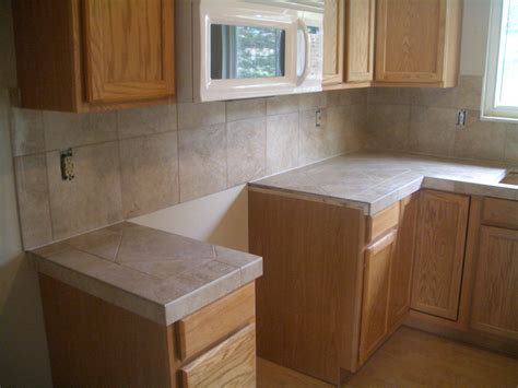 Tile Countertops Kitchen Kitchen Tile