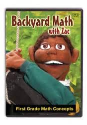 backyard math with zac dvd bju press