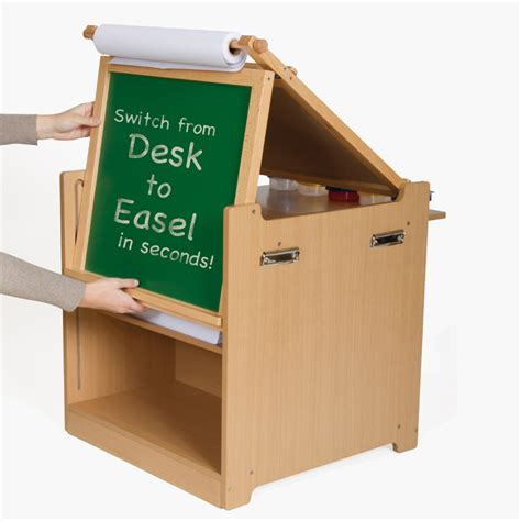 Desk To Easel Art Cart Rosenberryrooms Com Easel Desk